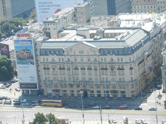 Polonia Palace Hotel : The Polonia Palace, from The Palace of Culture and Science