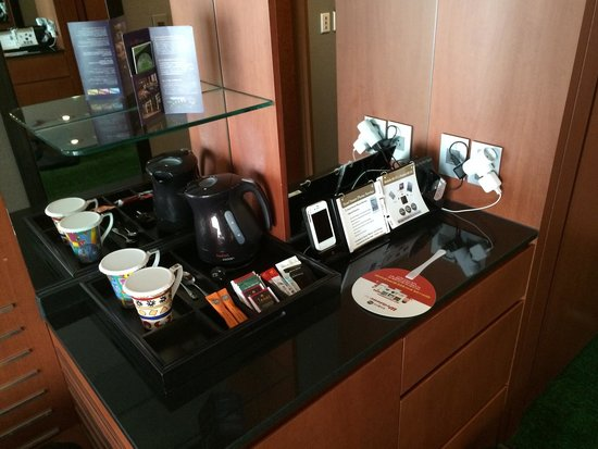 InterContinental Seoul COEX: Amazing amenities (although kettle not!)