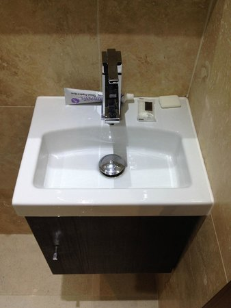 Best Western Palm Hotel : Very very small sink