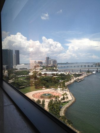 InterContinental Miami: View from room 1907