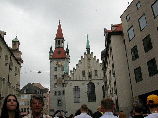 Marienplatz : Alte Rathaus