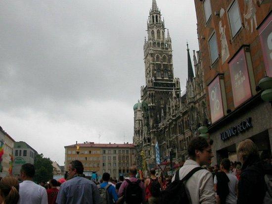 Marienplatz : Neue Rathaus