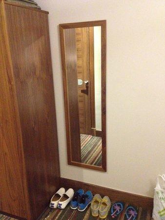 Best Western Palm Hotel : Mirror