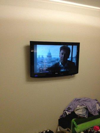 Best Western Palm Hotel : Flat screen TV