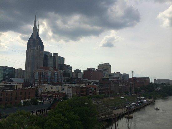 Hampton Inn & Suites Nashville - Downtown: nice view, a short walk away