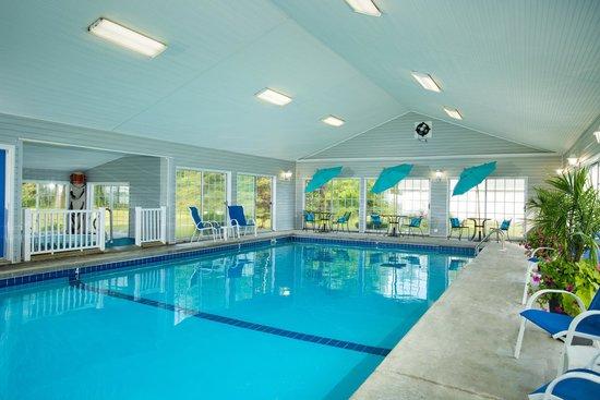 Clearwater Lakeshore Motel: Indoor Heated Pool
