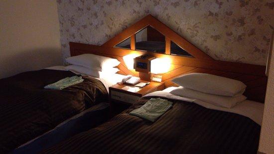Hotel Clio Court Hakata: ツインベッド