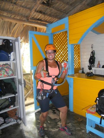 Canopy Adventure Zip Line Tours : After getting suited up