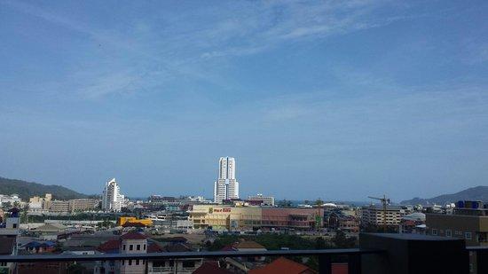 The Senses Resort: View from breakfast