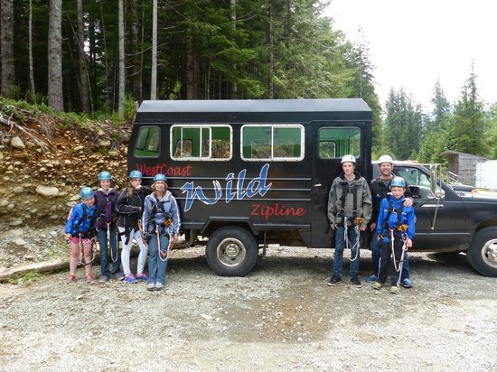 WestCoast Wild Adventures: Ready to go!