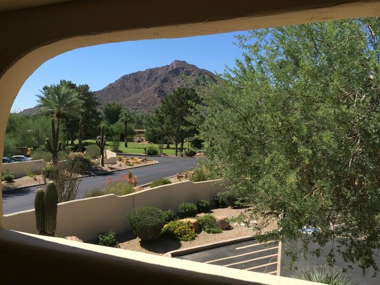 JW Marriott Scottsdale Camelback Inn Resort & Spa: View from our other balcony!
