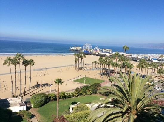 Loews Santa Monica Beach Hotel: view from 848