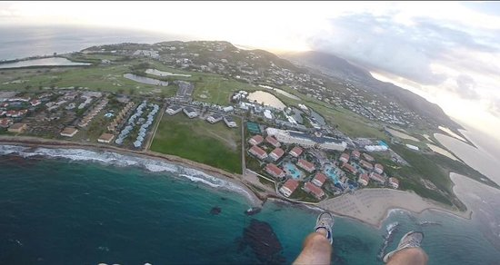 St.Kitts Water Sports : Tandem Powered Paragliding