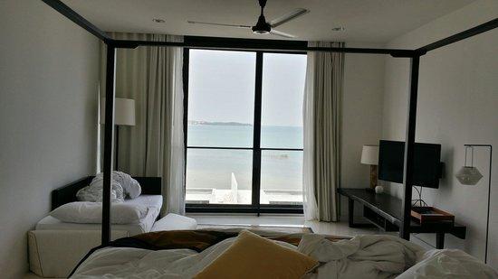 Montigo Resorts Nongsa: Master bedroom sea view