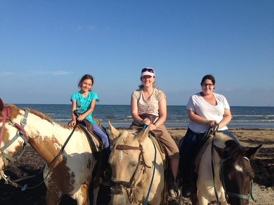 S-n-G Horseback Riding : S-n-G Horseback ride on the beach