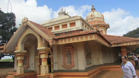 Belgaum, India: temple exterior