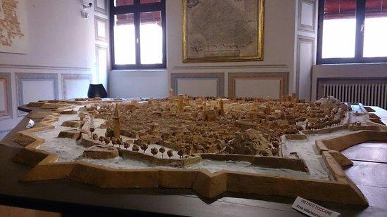 Castello Estense: Plastico