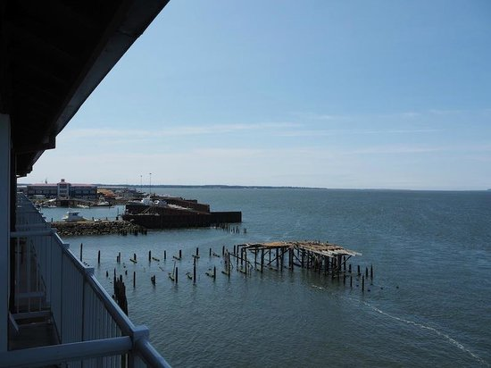 Cannery Pier Hotel: The view from the balcony