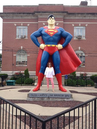 Superman Statue: Truth, Justice, The American Way