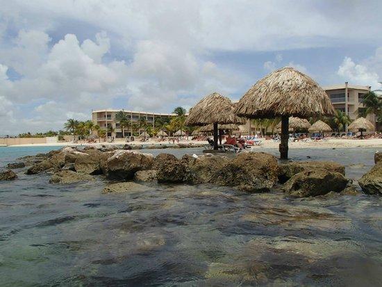 Sunscape Curacao Resort Spa & Casino: Beach area