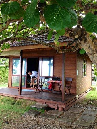 Taaroa Lodge: Calme et vue imprenable