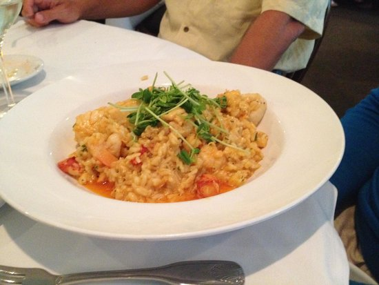 Old Yarmouth Inn: Seafood risotto