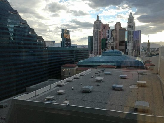MGM Grand Hotel and Casino : View Out Our Window