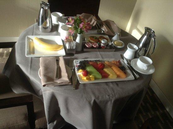 Best Room Service Breakfast Picture Of Aria Sky Suites