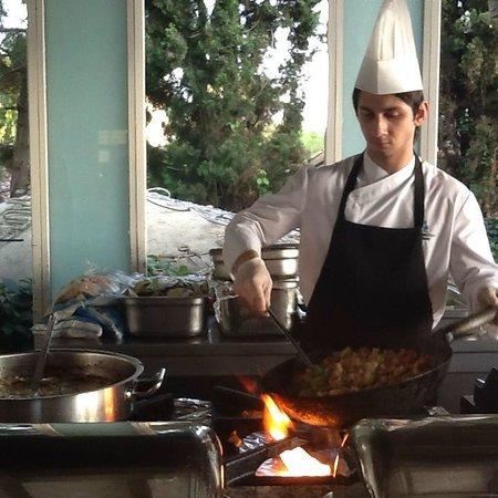 Crystal Sunrise Queen Luxury Resort & SPA: yemek