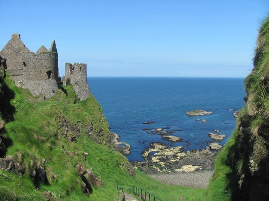 Causeway Coastal Route: Ruins and great scenery