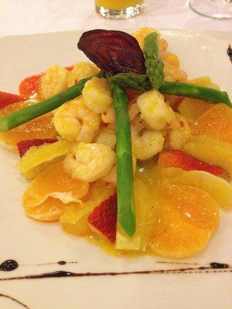 NH Collection Bogota Royal Teleport: Shrimp appetizer - delicious