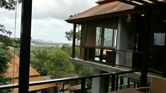 Villa Zolitude Resort and Spa: View from private dining area.