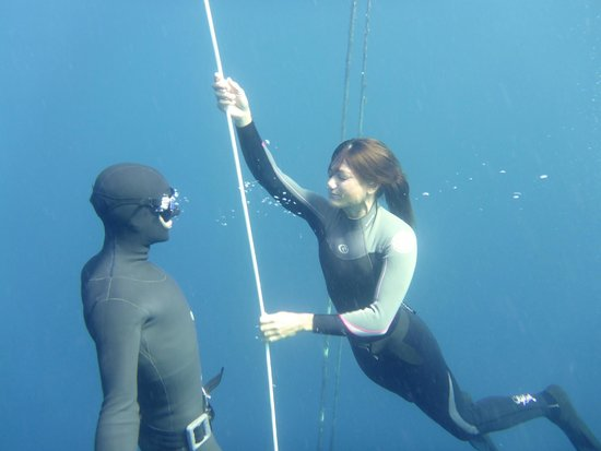 Fusion Freediving : Tomaz my instructor