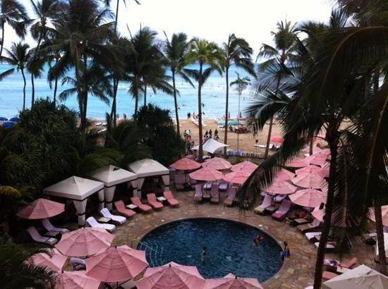 The Royal Hawaiian, a Luxury Collection Resort : view from 3rdfloor