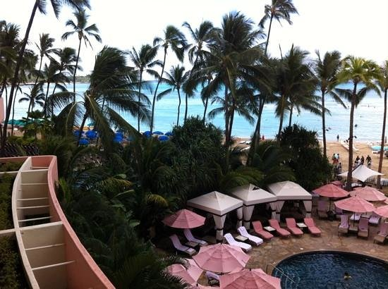 The Royal Hawaiian, a Luxury Collection Resort : view from 3rd floor