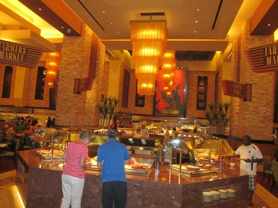 large buffet seating area picture of feast buffet at red rock rh tripadvisor co za