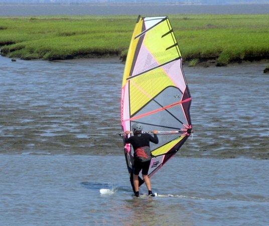 Lucy Evans Baylands Nature Interpretive Center: Windsurfing - Lucy Evans Interpretive Center Area, Palo Alto, Ca