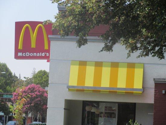 McDonald's, Menlo Park, Ca