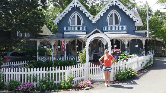Martha's Vineyard Camp meeting Association (MVCMA) : Some of the cute cottages
