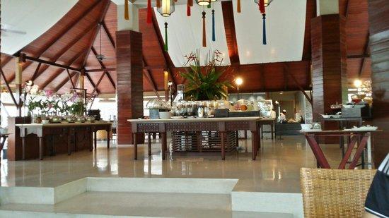 Villa Zolitude Resort and Spa: Breakfast area