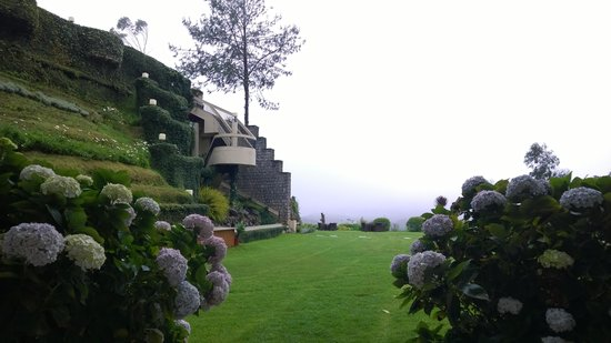 Sinclairs Retreat Ooty: The Lawn View1