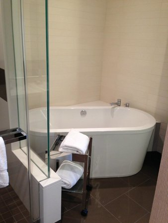 Vdara Hotel & Spa: Soaking tub -- be sure and pack bubble bath!