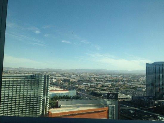 Vdara Hotel & Spa: View from room B