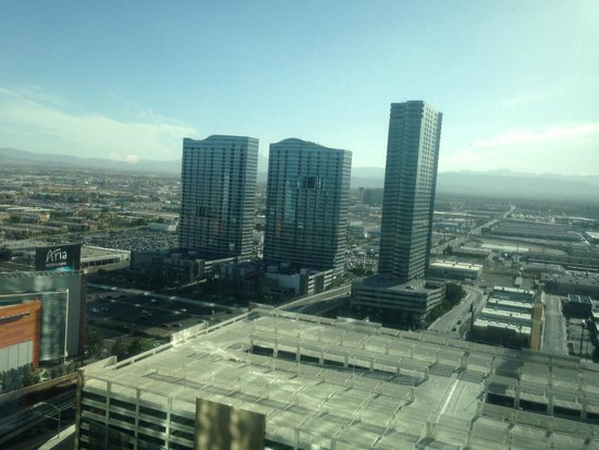 Vdara Hotel & Spa: View from Room A