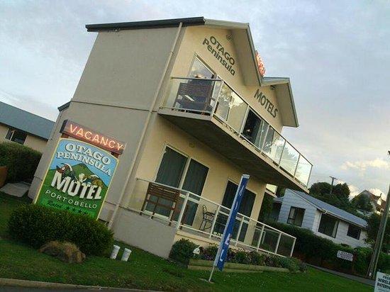 Otago Peninsula Motel: Front view
