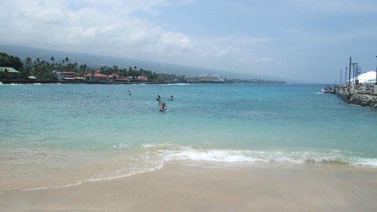 Kailua pier - less than 5 min. walk from Kona Seaside Hotel