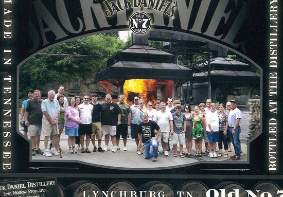 Jack Daniel's Distillery: Our photo at Jack Danielle's Distillery