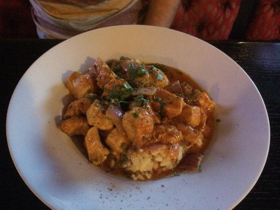 Aulde Dubliner & Pour House: Spicy chicken curry