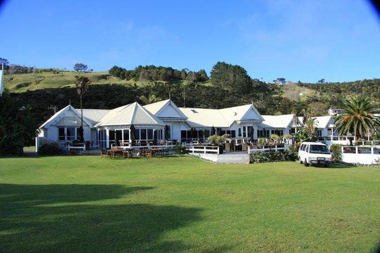 Copthorne Hotel & Resort Hokianga : Restaurant and grounds