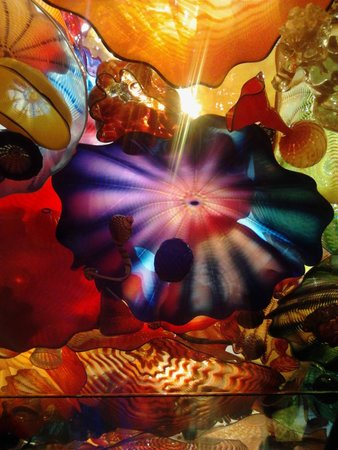 Chihuly Garden and Glass: Perisian Rug in Glass